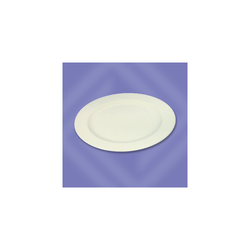 Bauscher Teller flach coup Form 5382 weiß D:250 mm 6 Stück