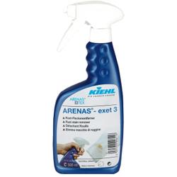 Kiehl ARENAS®-exet 3 Rost-Fleckentferner, Spezialprodukt zur Entfernung von Rostflecken aus Weiß- und Buntwäsche, 500 ml - Flasche
