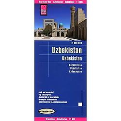 Reise Know-How Landkarte Usbekistan (1:1.000.000); Uzbekistan / Ouzbékistan - Buch