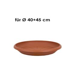 HTI-Living Pflanzkübel Untersetzer 37 cm (1 Stück) orange