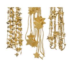 Perlenkette MIX STARS gold