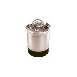 ich-zapfe Bierzapfanlage Reinigungsbehälter Edelstahl für 2 Fittinge - Fittinge austauschbar *ohne Fittinge*