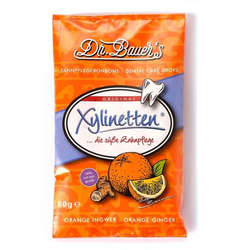 XYLINETTEN Orange Ingwer Bonbons 60 g