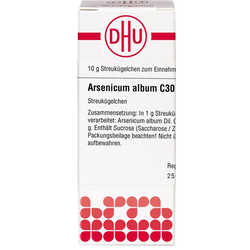 ARSENICUM ALBUM C 30 Globuli 10 g
