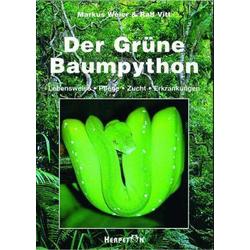 Die Grüne Baumpython als Buch von Ralf Vitt/ Markus Weier