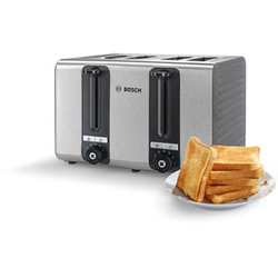 Bosch TAT7S45 Wasserkocher & Toaster - Grau