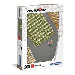 Clementoni® Puzzle 35078 Mordillo Der Marsch 500 Teile Puzzle, 500 Puzzleteile