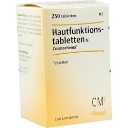 HAUTFUNKTIONSTABLETTEN N Cosmochema 250 St