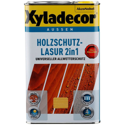 XYLADECOR Holzschutzlasur 2in1, 2 in 1, teak