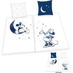 Wendebettwäsche Mickey und Minnie Mouse, Walt Disney, Partnerbettwäsche