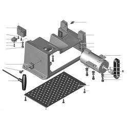 PROXXON 27044-01-06 Zahnrad Seite Motor für Abrichthobel AH80