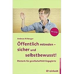 Öffentlich mitreden - sicher und selbstbewusst!, m. DVD