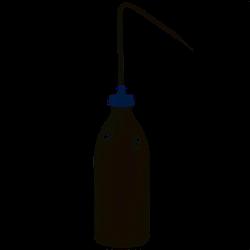 Spritzflasche von Pressol weiß transparent Kunststoff standfest 500ml