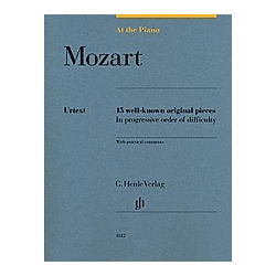 At The Piano - Mozart. Wolfgang Amadeus - At the Piano - 15 well-known original pieces Mozart  - Buch
