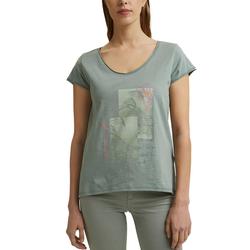 Esprit T-Shirt mit großem ästhetischem Print vorne blau S
