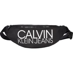 Calvin Klein Gürteltasche CKJ Logo CK Black, Gr. One_Size, polyamid - Kinder Gürteltasche