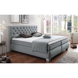 HAPO Boxspringbett Chester in anthrazit