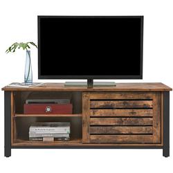 VASAGLE Lowboard LTV41BX, Fernsehtisch bis zu 48 Zoll, TV-Lowboards, vintage