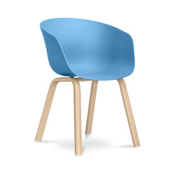 Hey Chair Skandinavisches Design - Mattes Blue
