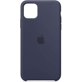 Apple iPhone 11 Pro Max Silikon Case Mitternachtsblau