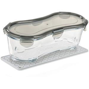 Genius Nicer Dicer Fun Glasschüssel-Set (3 Teile) die backofengeeignete Glasschüssel für ein einzigartiges Kochvergnügen