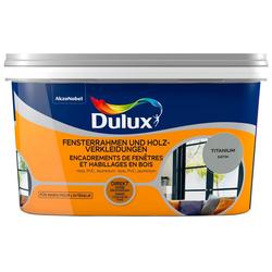 Dulux Holzlack Fresh Up, für Fensterrahmen und Holzverkleidungen, titanium, 2 l