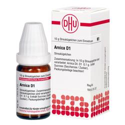 ARNICA D 1 Globuli 10 g