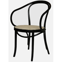 Fameg Thonet No 30 Stuhl mit Lehnen und Rattangeflecht