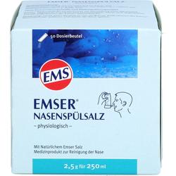 EMSER Nasenspülsalz physiologisch Btl. 50 St.