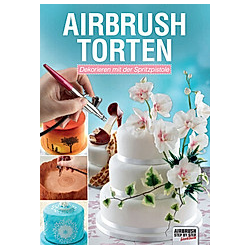 Airbrush-Torten. Cassie Brown  - Buch