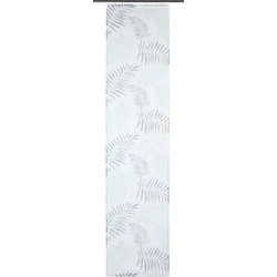 Schiebegardine PAULA, my home, Klettschiene (2 Stück) 57 cm x 225 cm