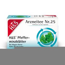 H&S Pfefferminztee Filterbeutel 20X1.5 g