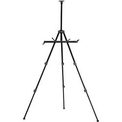Walimex Pro Staffelei Arbeitshöhe=60 - 180cm Schwarz inkl. Tasche