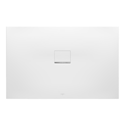 Villeroy & Boch Squaro Infinity Duschwanne Quaryl® 100 x 90 x 4 cm… Grau (matt)
