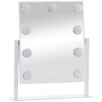 Clp Schminkspiegel Majuro mit Beleuchtung, Farbe:weiß