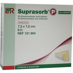 SUPRASORB P PU-Schaumv.nicht klebend 7,5x7,5 cm 8 St.