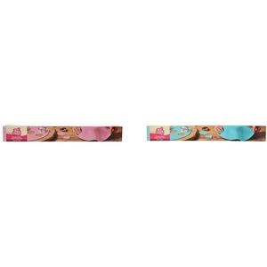 FunCakes Ausgerollte Rollfondant Disc Sweet Pink: Köstliches Vanille-Aroma, bereits gerollt, einfach zu verwenden, 430 g & Ausgerollte Rollfondant Disc Baby Blue: Köstliches Vanille-Aroma, 430 g