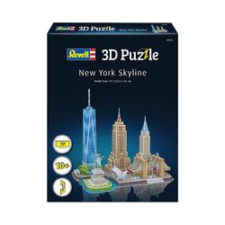Revell® 3D-Puzzle 3D-Puzzle New York Skyline, 123 Teile, Puzzleteile