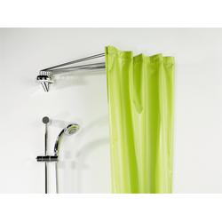 Duschvorhangspinne Ombrella, spirella, kürzbar, für Duschvorhänge mit 8 Ösen, Länge 90 cm