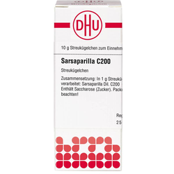 SARSAPARILLA C 200 Globuli 10 g