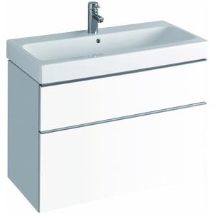 Keramag / Geberit iCon Waschtischunterschrank 890x620x477mm - Alpin matt - 841390000