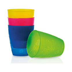Nuby Becher Trinkbecher, 4er Pack