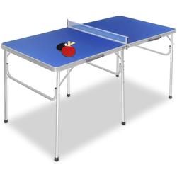 COSTWAY Tischtennisplatte Tischtennisplatte, Tischtennis Platte Tischtennistisch klappbar 152.4x76.2x76.2cm inkl Schläger+Bälle+Net