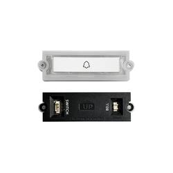DoorBird DoorBird D21x Beleuchtete Ruftaste für DoorBird D21x Smart Home Türklingel (Kunststoff)