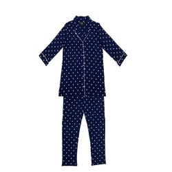 Le chat Pyjama Bellagio 106 (2 tlg) blau 38