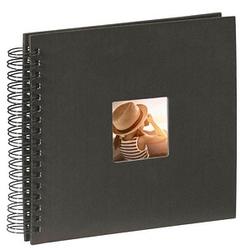 hama Fotoalbum Fine Art neutral 28,0 x 24,0 cm, 50 schwarze Seiten