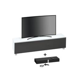 Maja Möbel Lowboard Soundboard 7738, 180 cm weiß