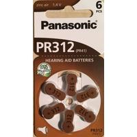 Panasonic Hörgerätebatterien PR 312 6 St.