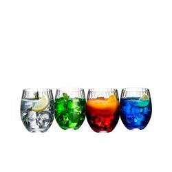 RIEDEL Glas Longdrinkglas Mixing Tonic 4er-Set, Kristallglas