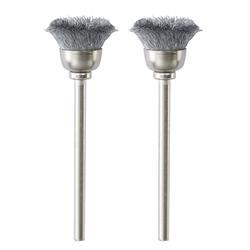 Proxxon Topfbürsten, Stahl, 13 mm, 2 Stück